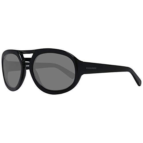 DSQUARED2 D Squared Gafas de sol, Negro (Black), 55.0 para Hombre