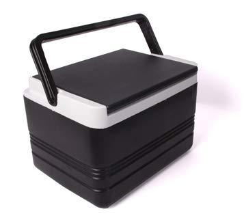Buggies Unlimited 12-Quart Black Cooler for Golf Carts