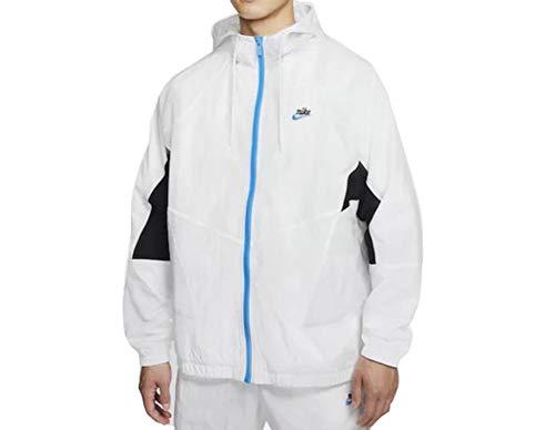 Nike Herren Sportswear Heritage Windrunner Jacke Weiß M