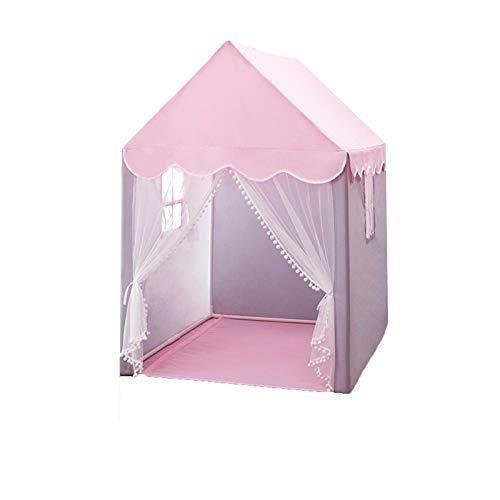 XZGang Tiendas de campaña for niños for niños y niñas, de niños Indoor Tienda de Juegos de Noche Castillo Tienda Tiendas - Azul Rosados - Mejor Tiendas el Juego for niños Espacio Infantil