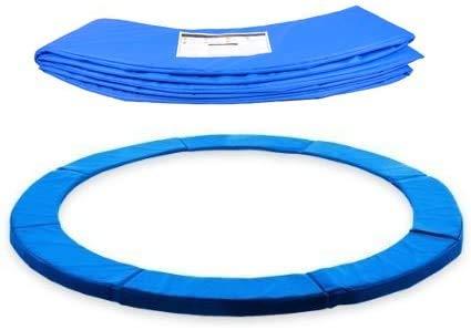 ZXVC Copertura per il bordo del trampolino per trampolino da 183 cm/244 cm, per trampolino da giardino, Jumper protezione bordo in PVC PE (244 cm)
