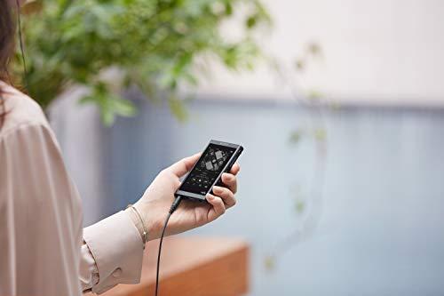 Sony NW-A55LB Walkman (16 GB, Hi-Res, Touch Screen, Bluetooth, NFC, microSD-Slot, Vinyl Processor), schwarz