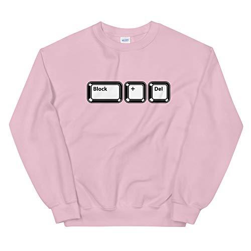 Natural Verve Retro Keyboard Block + Delete Boujee Meme Hooded Sweatshirt