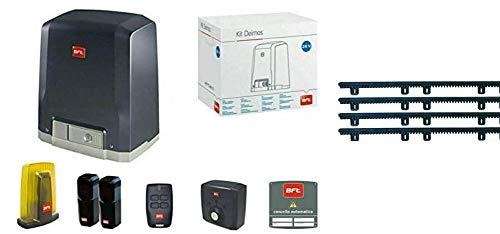 Eci Elettroforniture BFT Kit Set Deimos AC A600 kg 220 V Puerta corredera automática R925280 00002 + 4 m cremallera