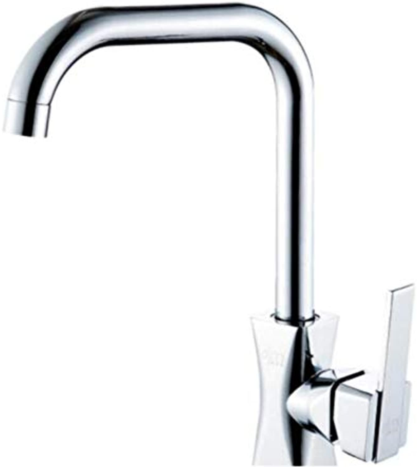 Faucet Lead-Free Square Innovationkitchen Sink Faucet Sink Faucet redatable Hot and Cold Water Faucet