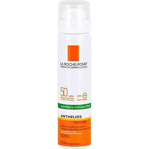 La Roche-Posay Anthelios transparentes Spray Gesicht LSF 50 Aerosol, 75 ml Lösung