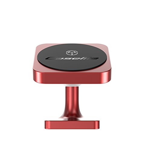 Car Phone Mount Magnetic Cell Phone Car Mount Vent and Dashboard 360° Rotation Car Phone Holder Dashboard for iPhone SE 11 Pro XS Max XR X 8 Plus Samsung Galaxy S20 Note10 S10 S10e & All Phones Red
