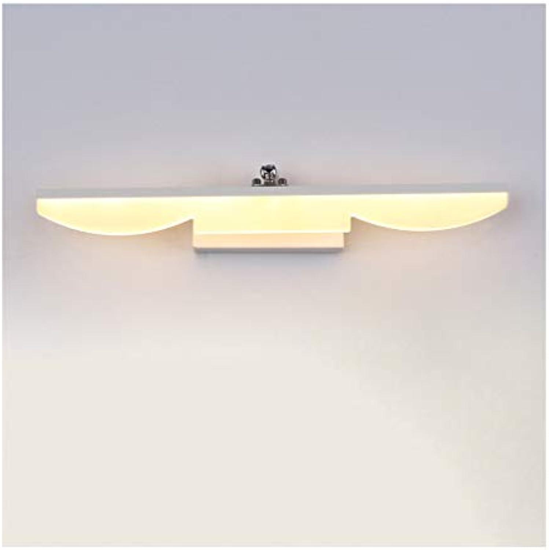 &Badezimmerbeleuchtung Spiegel-Frontleuchte, einfaches Badezimmer-Licht führte Kosmetikspiegel-Kabinett-Licht Licht (Farbe   Warmes Licht-80cm)