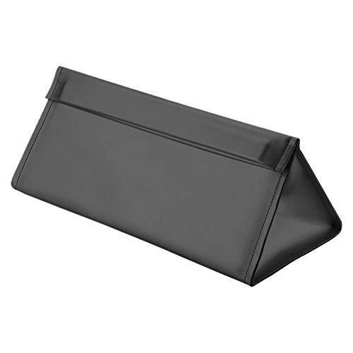 Xingsiyue Secador de Pelo Cuero de PU Viajes Almacenamiento Funda Protectora de la Caja del Bolso para Dyson Supersonic HD01 HD03 Hair Dryers/Dyson Airwrap,Impermeable(Negro)