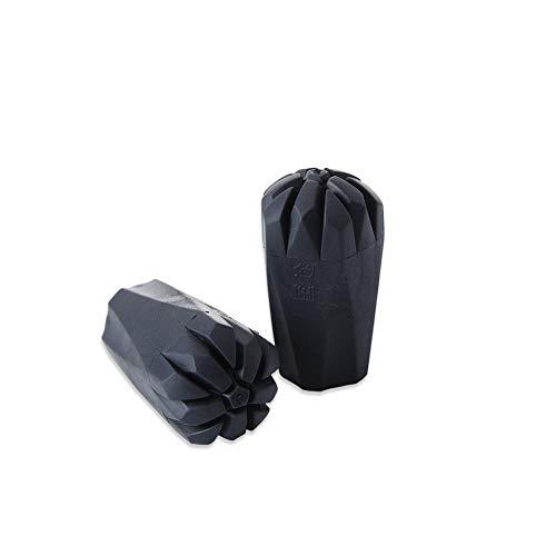Augproveshak 2 Stück Gummi-Spitzen für Trekkingstöcke, Ersatzstangen-Schutzhüllen, passend für die meisten Standard-Wanderstöcke