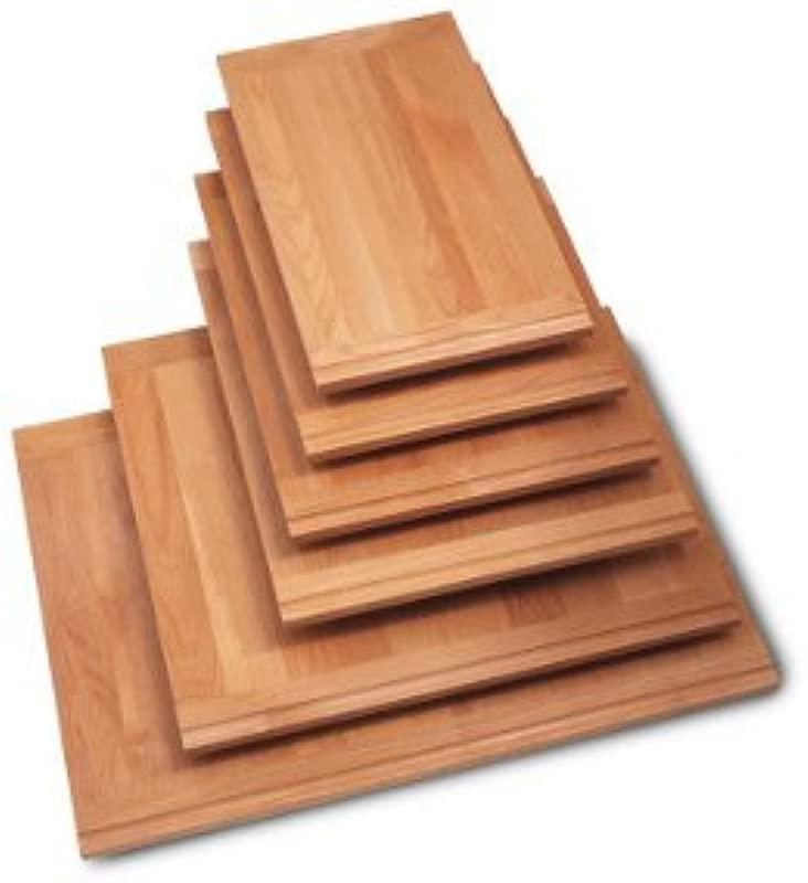 Woodmold Solid Hardwood Breadboards 3 4 THICK ALDER CUTTINGBOARD 30 X22 X3 4 ALDER