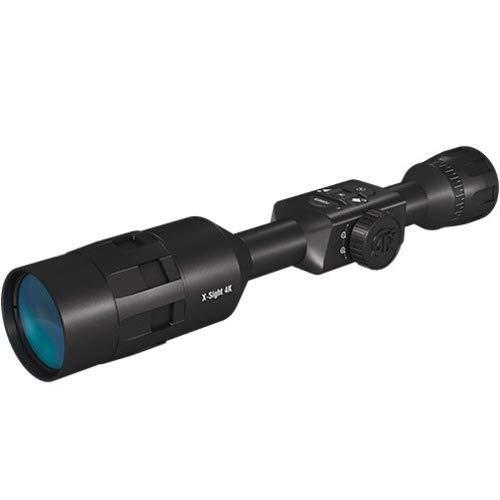 ATN X-Sight 4K Buck Hunter Smart Daytime Riflescope 5-20x - Ultra HD 4K technology, Superb Optics, Full HD Video, 18+ hrs Battery, Ballistic Calculator, Rangefinder, WiFi, E-Compass, Barometer , Black