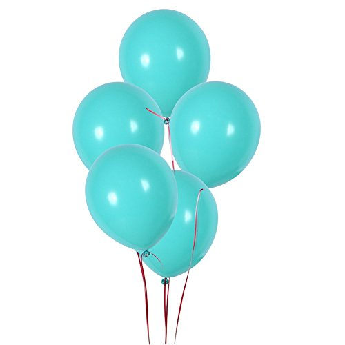 Sea Foam Aqua Blue Latex Balloons Globos Seafoam Balloon Party Birthday Wedding Balloons Pack of 100