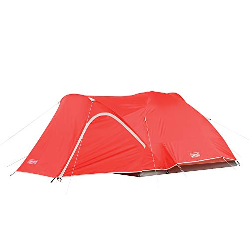Coleman Hooligan Backpacking Tent , Red, 4-Person