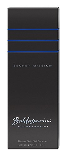 Baldessarini Secret Mission homme/men, Shower Gel, 1er Pack (1 x 200 ml)