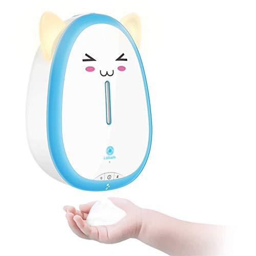 Boloi Baño Dispensador de jabón USB sin Contacto automático dispensador de jabón for Montaje en Pared Que Hace Espuma de la Bomba de jabón de Litio Recargable Lotion Dispensers dispensador de líquido