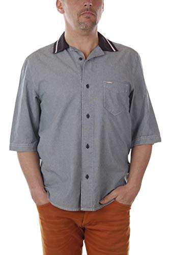 Diesel S-Westy Camisa Hombre (L, Azul)