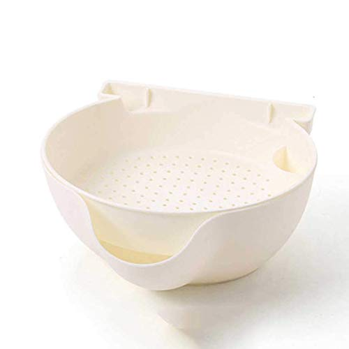 XXCHUIJU Creative Bowl Dish Double Layer Dry Fruit Snacks Seeds Containers Phone Garbage Holder Plastic Storage Box Jewlry Organizer (Color : C)
