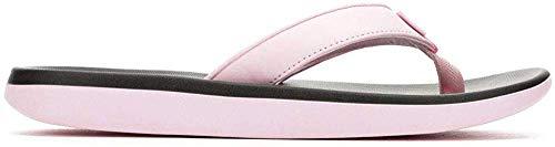 Nike Women's Bella Kai Thong Sandals (8 M US, Pink Foam/Metallic Silver)