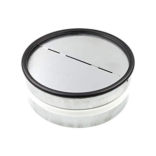 neverest RKI 150 mm Válvula Antirretorno Reduce el Ruido y Evita el Aire Frío por Tubo de Ventilación
