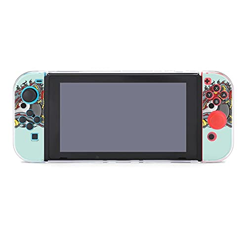 Funda para Nintendo Switch Tai Chi Chinese Dragon 5 piezas Funda protectora...