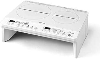 IH電磁爐2口1400W 黑色/白色 無腳/帶腳架 單品/套裝