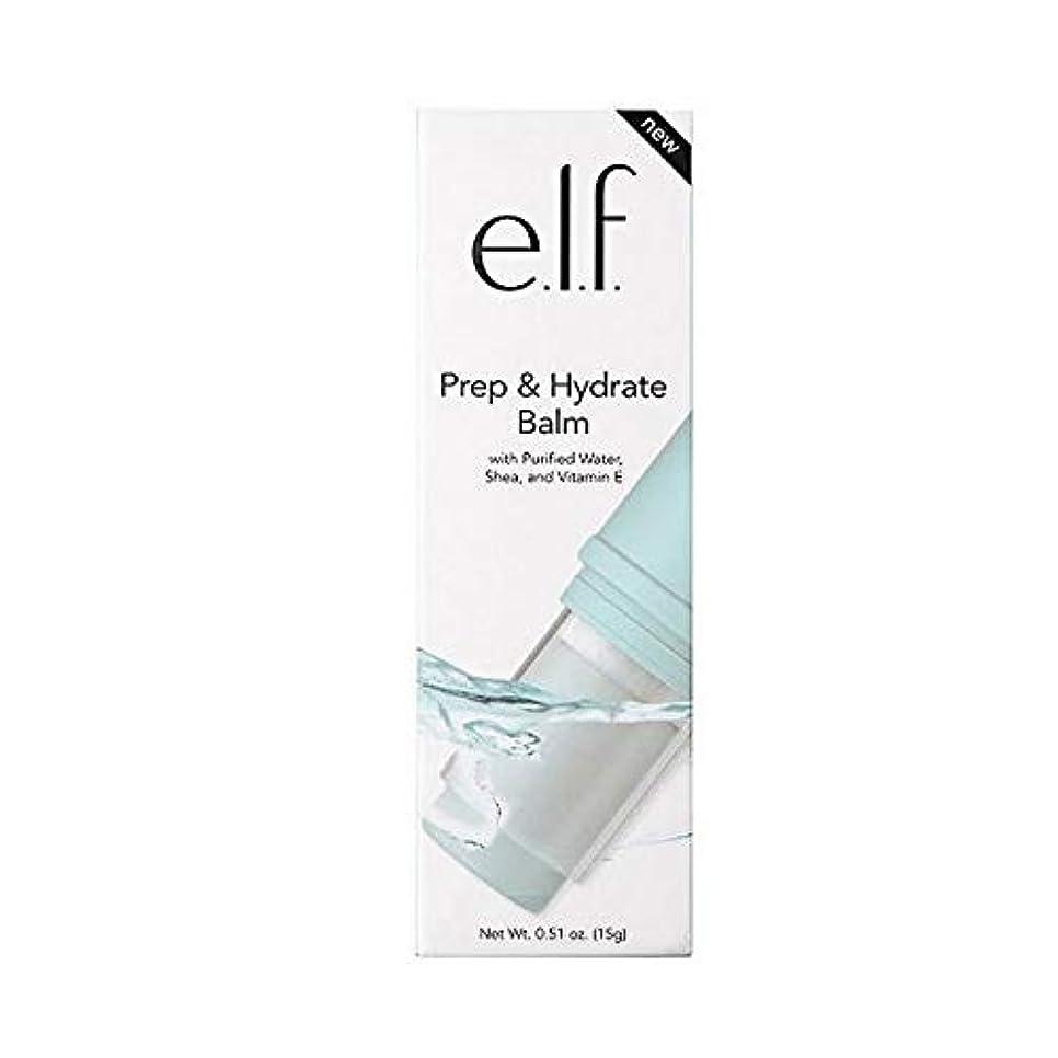 解決吸い込む連結する[Elf ] エルフ。予備校&ハイドレートクリーム - e.l.f. Prep & Hydrate Balm [並行輸入品]