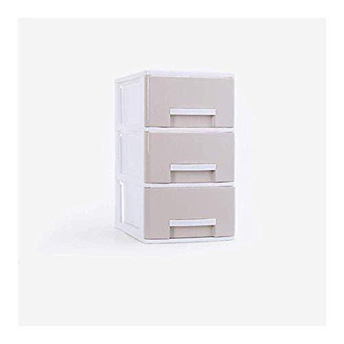 JYV Cajón de Oficina Simple Caja de Almacenamiento Organizador de Documentos, Gadgets, Apto for Rack de Almacenamiento de Archivos en el Escritorio de Oficina (Color : White, Size : 17x24x30cm)