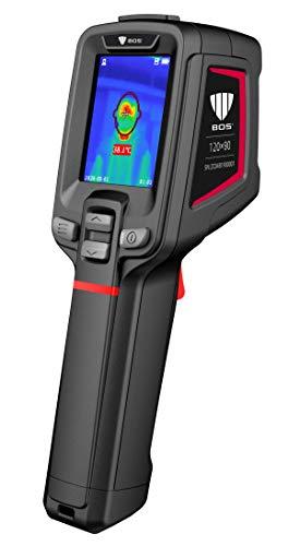 Cámara térmica con pistola para la detección de la temperatura corporal.