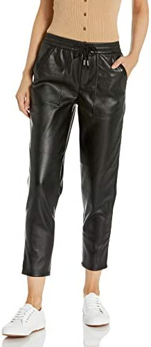BLANKNYC womens Blanknyc Vegan Leather Drawstring Jogger Pants No Guidance 26 US product image