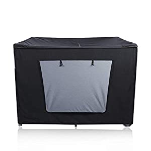 crib bedding and baby bedding minnebaby darkening cover for pack n play, breathable travel crib shade canopy tent for baby better sleeping and napping