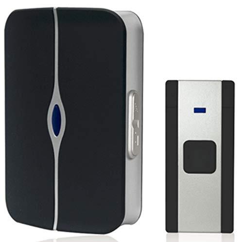 Havells Tango Plastic Wireless Digital Doorbell (White and Black)