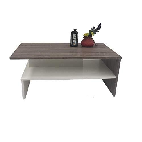 Möbel SD Couchtisch Wohnzimmertisch Kaffeetisch (SW) Sonoma Eiche dunkel