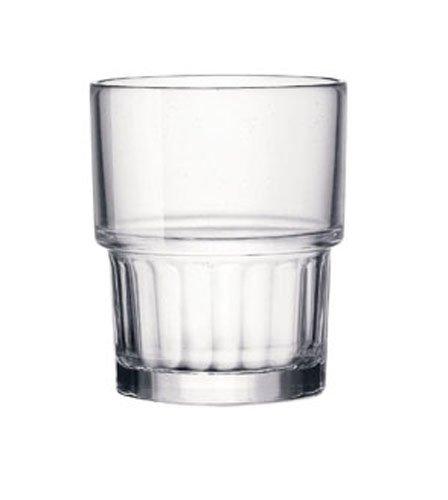 Bormioli Rocco Lyon verre à eau 21cl, empilable, trempée, 6 verres