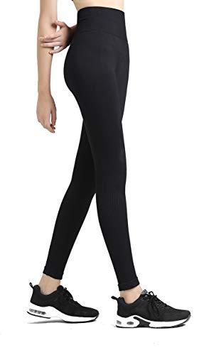 XIANGUO Sport Leggings Damen High Waist Elastische Sporthose Yogahosen für Freizeit Fitness