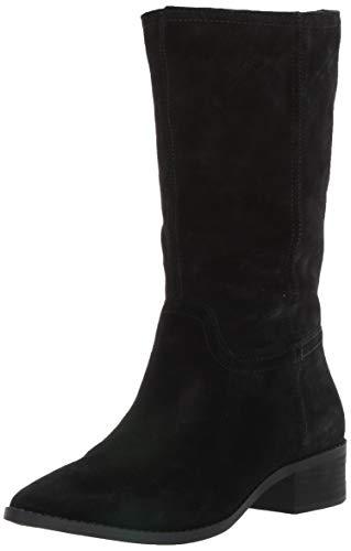 Lucky Brand Women's LEFARA Mid Calf Boot, Black, 8.5