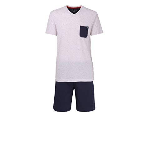 TOM TAILOR Herren Shorty weiß Melange 1er Pack 50