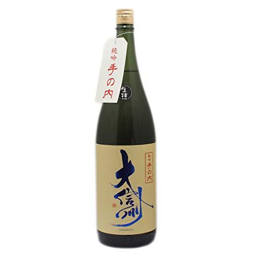 日本酒 大信州 純米吟醸 手の内 生詰 1800