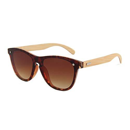 Hengtaichang Sunglasses Wooden Sunglasses For Women Fashion Brand Designer UV400 Mirror Lenses Sunglasses For Men NEW Arrival Brown
