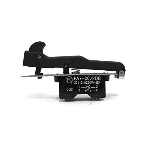 MQEIANG Reemplazo del Interruptor de activación para Hitachi G18SE2 180 Piezas de Repuesto de Gran Angular Grande