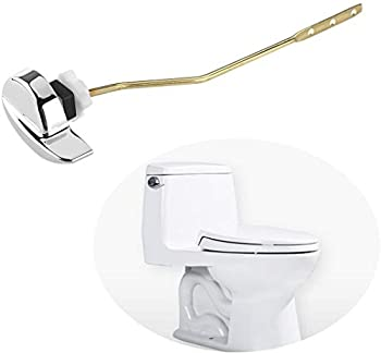 OULII Toilet Flush Lever Handle Universal Toilet Handle Replacement for Toilet Tank  Side Mount