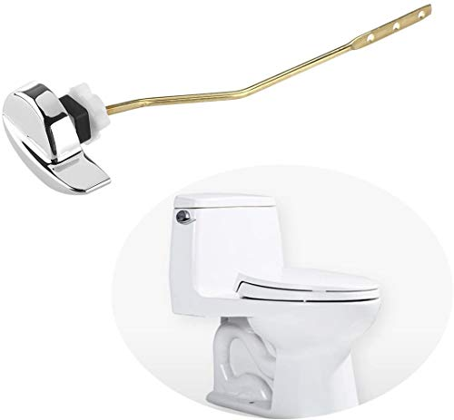 OULII Toilet Flush Lever Handle Universal Toilet Handle Replacement for Toilet Tank (Side Mount)