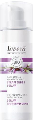 Lavera Straffendes Serum Karanjaöl & Weißer Bio-Tee, 1er Pack (1 x 30 ml)