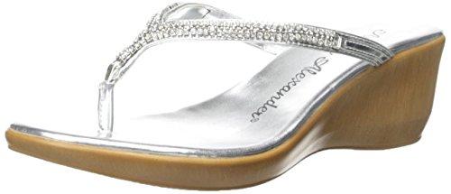 Athena Alexander Women's Colette, Silver, 10 M US