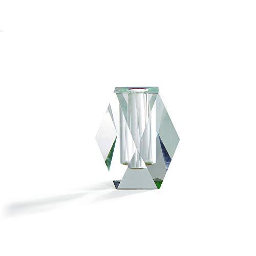 Fundamental Berlin   Regenbogen Kleine Vase   6.5cm x 3.5cm x 3.5cm   Chromatisches Kristallglas   Entworfen in Berlin