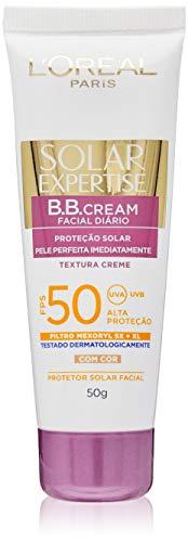 Protetor Solar Facial BB Cream FPS 50 50g, L'Oréal Paris