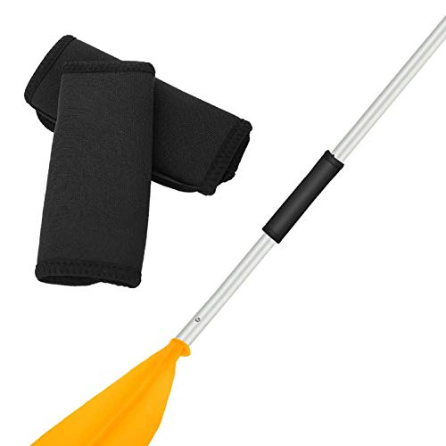 Esenlong 2 empuñaduras antideslizantes para remo, cómodas y suaves, para kayak, canoa, remo, kayak, barco, accesorios de 14 cm x 11,5 cm