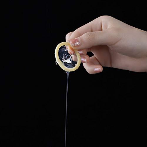 Hyaluronsäure Ultradünne Wasserlösliche Latex Kondom, Natural Moisturizing Factor, Leicht Zu Reinigen, Langlebig Und Sicher Ohne Silikonöl, 10PCS
