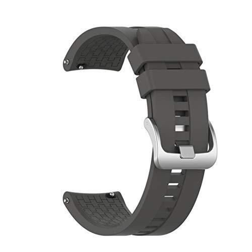 Correa de silicona para Huawei Watch GT 46mm Correa deportiva oficial Ancho de pantalla universal Reloj MM para Huawei Watch GT