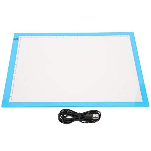 Almohadilla de luz A4, tableta de dibujo LED, almohadilla de luz, almohadilla de luz de rastreo Artcraft, luz LED para dibujo artístico, bocetos